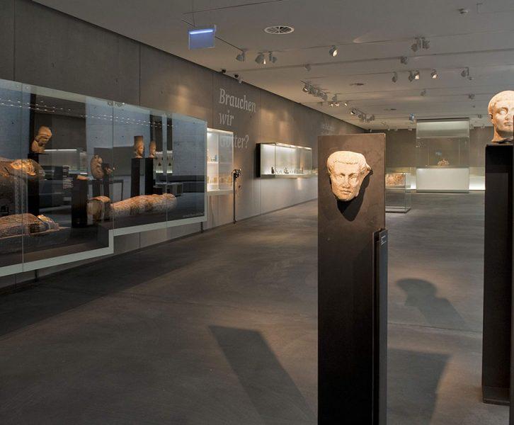 Ausstellungsansicht Archäologiemuseum. (© UMJ/N. Lackner)