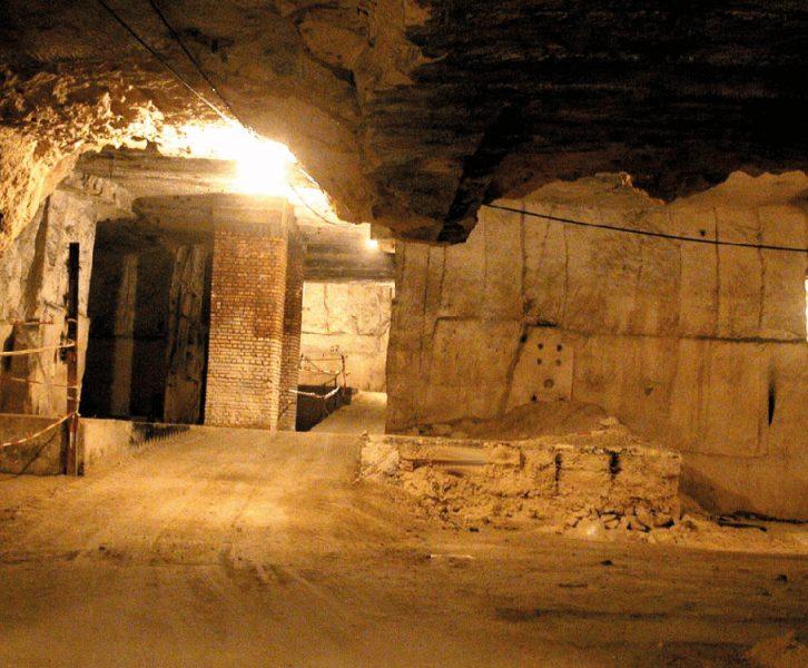 Blick in die sog. Römerhöhle (© Marktgemeinde Wagna)